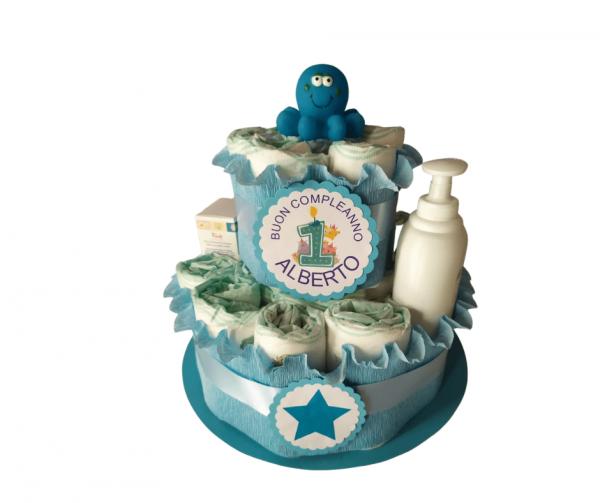 torta pannolini personalizzata
